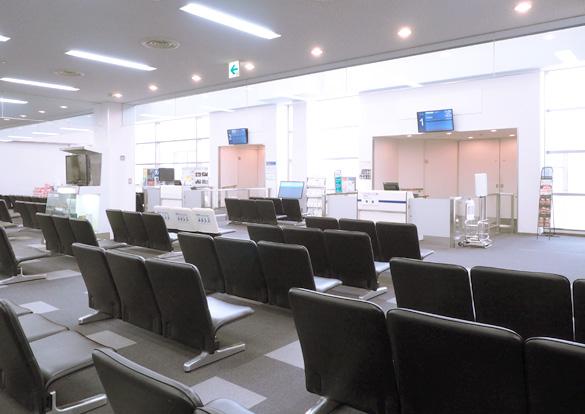 搭乗待合室のイメージ画像