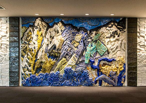 「立山」陶板レリーフのイメージ画像