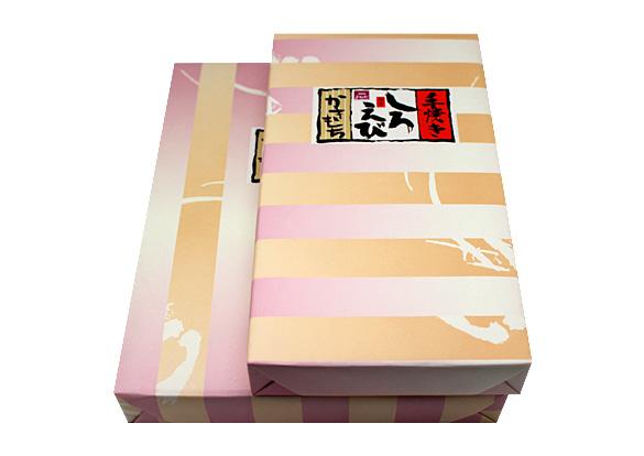 手焼き白えびかき餅のイメージ画像