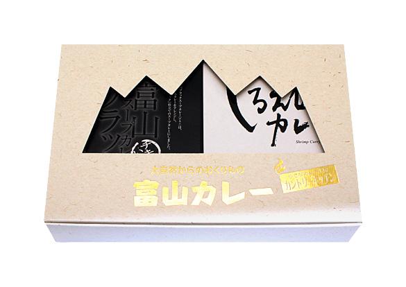 富山カレー4個入詰合せのイメージ画像